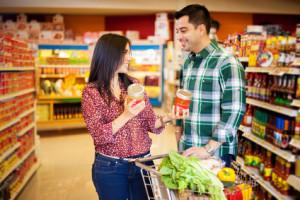 Beim einkaufen kennenlernen